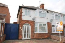 semi detached home in Yorkshire Road, Leicester