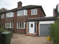 Clifford Road semi detached house to rent