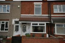 Terraced property in Barcroft Street...