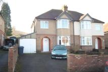 3 bedroom semi detached property in Eaton Avenue...