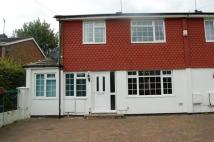 Terraced property in Harries Way...