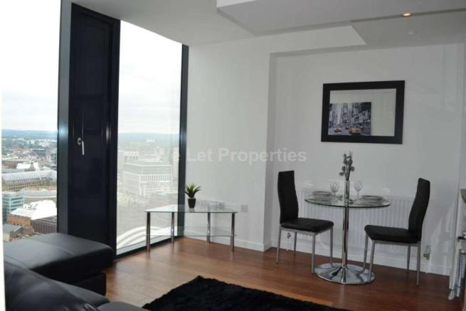 Studio Apartment Manchester studio apartment to rent in beetham tower, manchester, m3