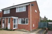 2 bedroom semi detached home in Whitakers Close, Pershore