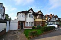 semi detached house in Wood End Road, Harrow...