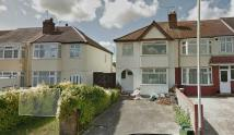 End of Terrace home to rent in Purcell Road , Greenford...
