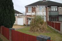 3 bed semi detached property to rent in Albert Road, Birmingham