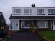 Ffordd Aelwydd semi detached property to rent