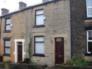 Terraced house in Gladstone Terrace Road...