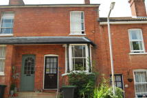 Terraced house in Woodside Road