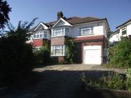 semi detached property in Chandos Avenue, London...
