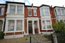 Terraced house in Elvendon Road, London...