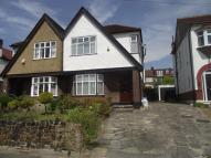 semi detached property to rent in Ashridge Gardens, London...
