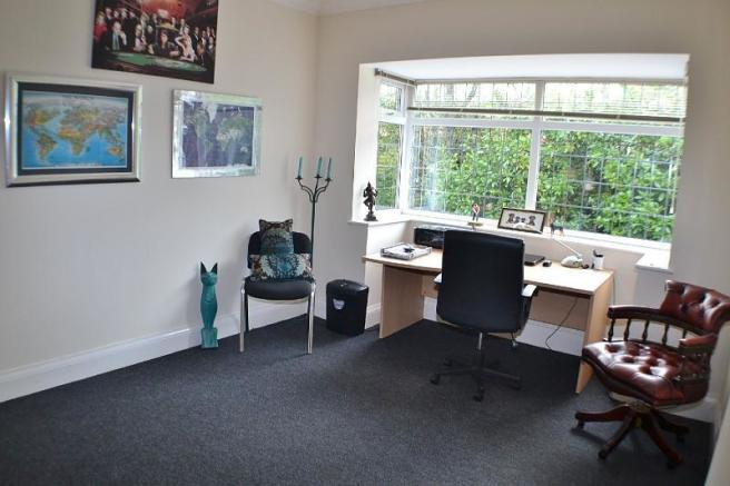 Bedroom three - used as home office