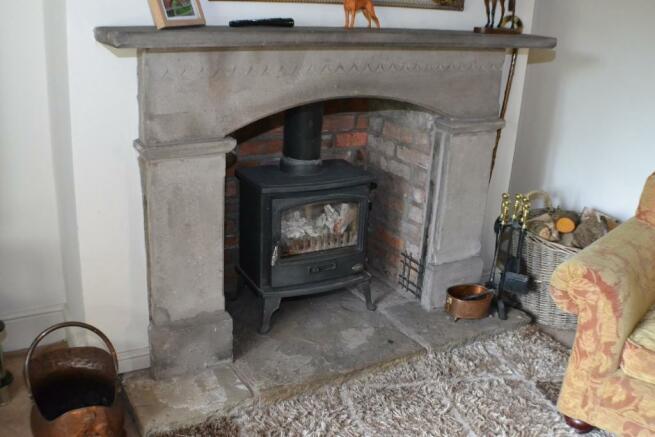 Lounge Stone Firepla