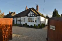 Middlewich Road Bungalow for sale