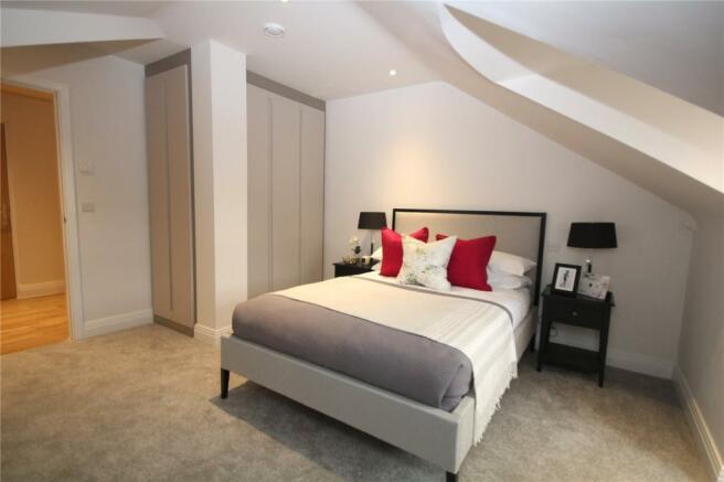 Plot 17 Bedroom