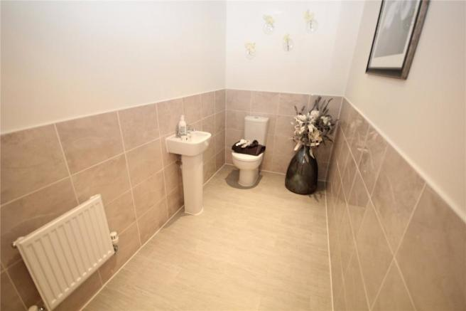 Show Home Cloakroom