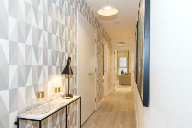 Show Flat Hallway