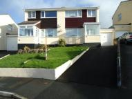 semi detached home in Foster Drive, Bodmin...