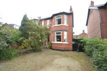 semi detached house in Priory Road, Sale