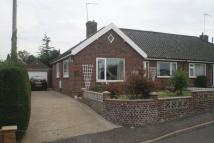Semi-Detached Bungalow in Grovedale Close, Norwich