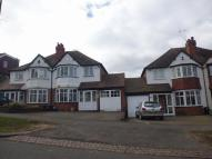 3 bed semi detached home to rent in Tixall Road, Hall Green...
