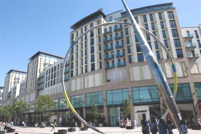 2 bedroom apartment for sale in The Hayes Apartments, Cardiff, CF10