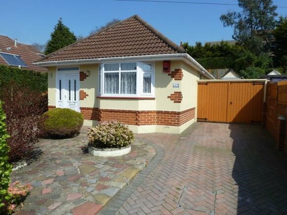 2 Bedroom Detached Bungalow For Sale In Howeth Road Ensbury Park