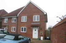 3 bedroom semi detached property in Patterson Court...