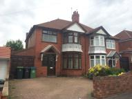 3 bedroom semi detached property in William Road, Smethwick...