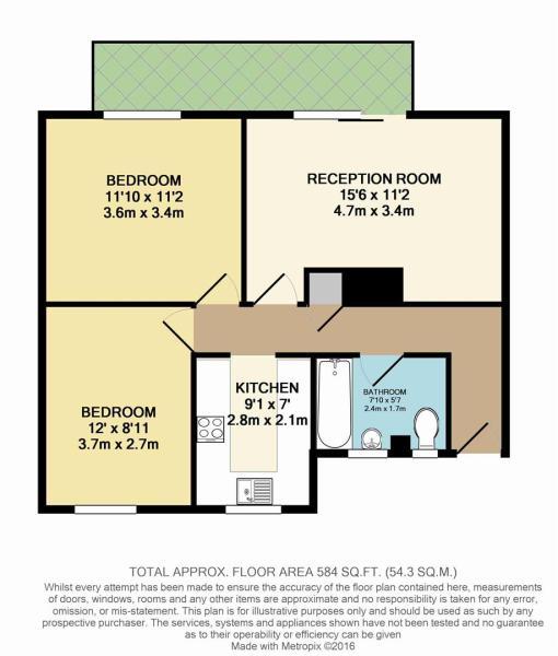 Floor Plan - Flat 3