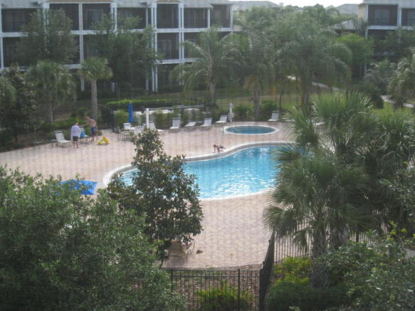 one of the pool area