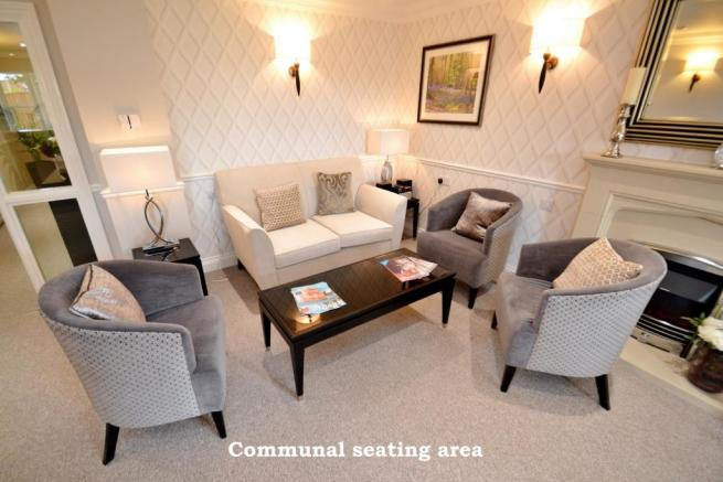 Communal seating are
