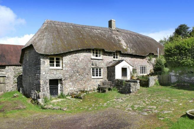 5 bedroom farm house for sale in widecombe in the moor
