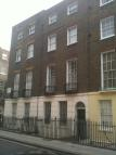 Studio apartment in Guilford Street, London...