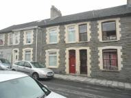 Terraced property in Islwyn Street...
