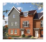 3 bed new development for sale in Off Sandy Lane...