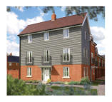 3 bed new house in Off Sandy Lane...