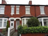 Terraced home in Princes Road, Altrincham...