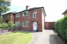 2 bed semi detached property in Ladybrook Avenue...