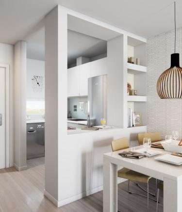 OPEN PLAN KITCH