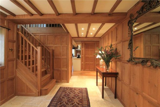 Wooden Panelled Hall