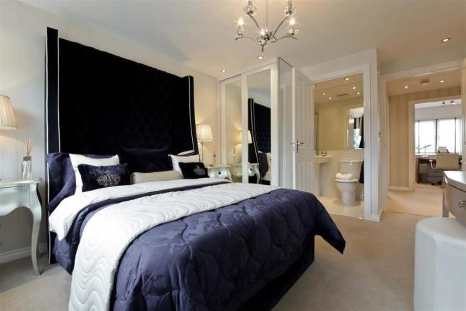 A Beautiful Taylor Wimpey Showhome Bedroom
