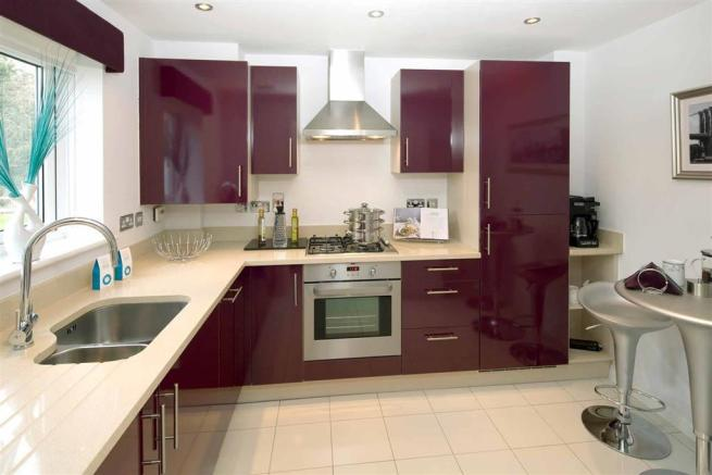 A Typical Taylor Wimpey Showhome Kitchen