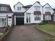 semi detached house for sale in Harborne Road...