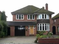 4 bedroom Detached house in Walsall Road, Four Oaks...