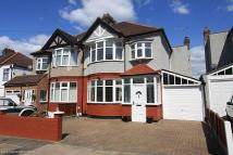 4 bedroom semi detached property in Vista Drive, Ilford...