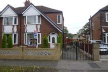 semi detached property to rent in Barton Road, Stretford...