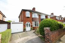 3 bed semi detached house in Broadstone Hall Rd North...