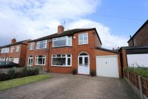 3 bedroom semi detached property for sale in Whitley Road...